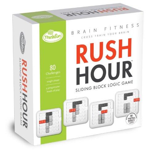Brain Fitness Rush Hour Board Game