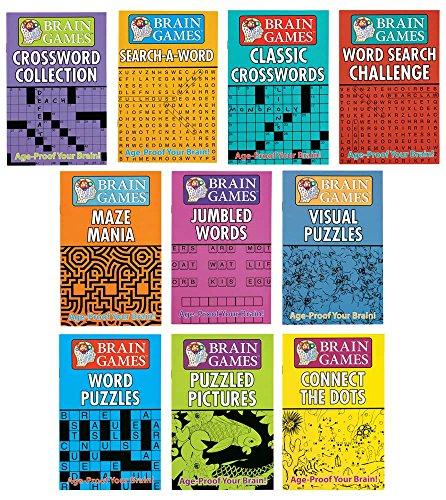 Miles Kimball Brain Games - Set of 10