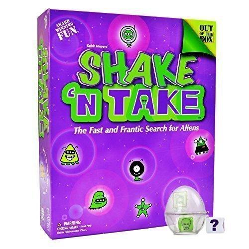 Shake And Take - Alien Brain Games for Kids