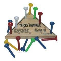 Triangle Shape Brain Game