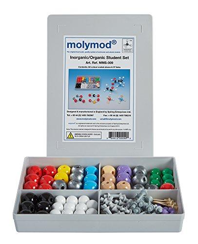 Molymod MMS-009 InorganicOrganic Chemistry Molecular Model Student Set 52 atom parts