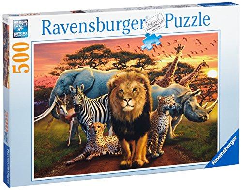 African Splendor 500 Piece Puzzle