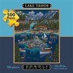 Jigsaw Puzzle- Lake Tahoe 500 Piece Puzzle By Dowdle Folk Art