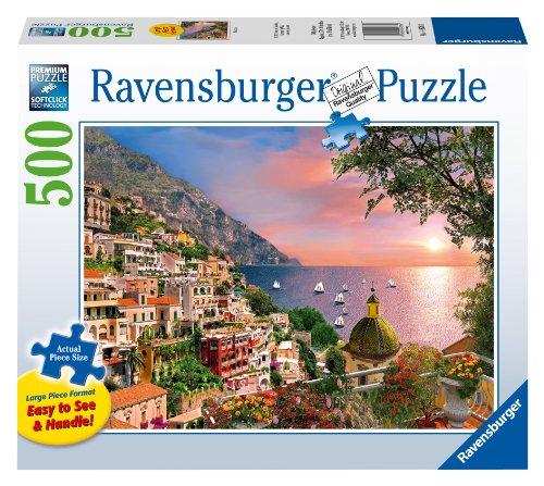 Positano Jigsaw Puzzle Large Format 500-Piece