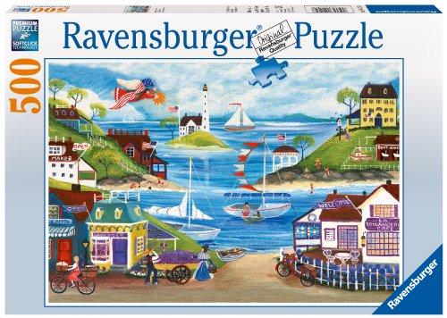 Ravensburger Lovely Seaside - 500 Piece Puzzle