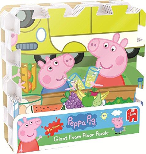Peppa Pig Giant EVA Foam Floor Puzzle 9-Piece