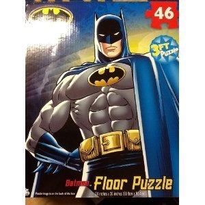 BATMAN My Size FLOOR Puzzle XL 46 PIECES 3 feet length - 24 x 36
