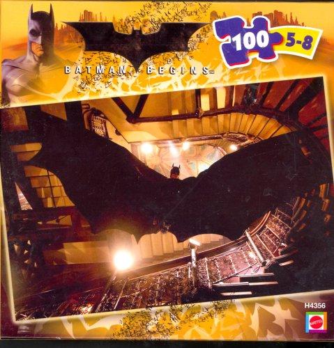 Batman Begins 100 Piece Puzzle by Mattel - Ages 5-8
