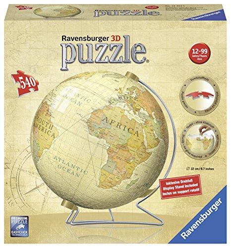 Ravensburger Vintage Globe - 3D Puzzle Ball 540-Piece