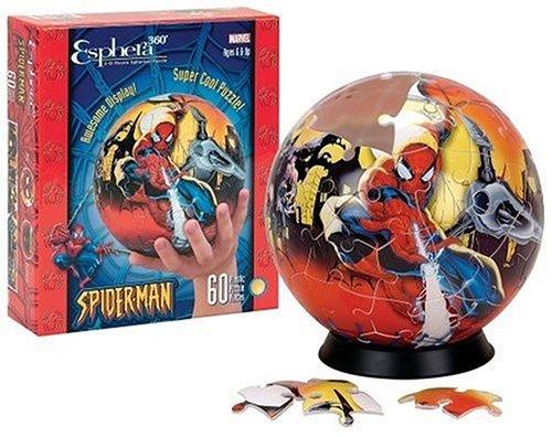 Spiderman 6 Globe Puzzle