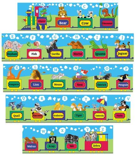 ABC Train Floor Puzzle - 10 Ft Long By Melissa Doug