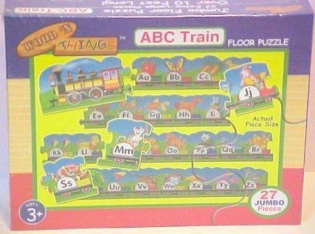 ABC Train Floor Puzzle 27 Jumbo Pieces