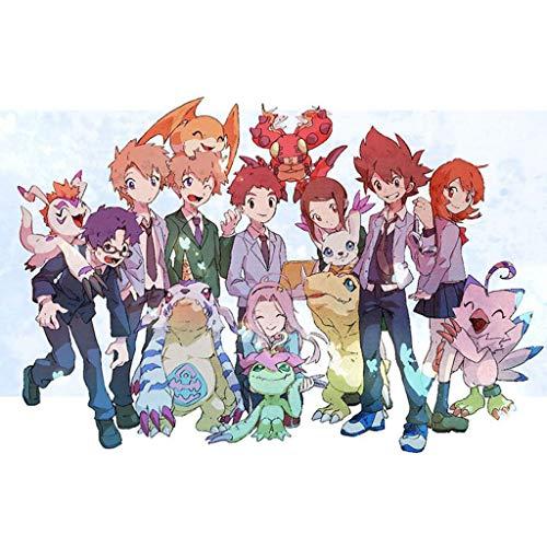 WZJ-Puzzle Digimon Adult Wooden Puzzle Childrens Wooden Puzzle 30050010001500 Pieces Color  C Size  1000pcs