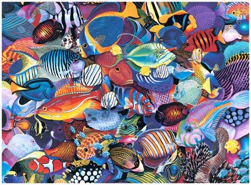 Great American Puzzle Factory Underwater Mardi Gras 1000 Piece Puzzle