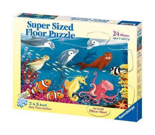 Ravensburger Ocean Life - 24 Piece Floor Puzzle