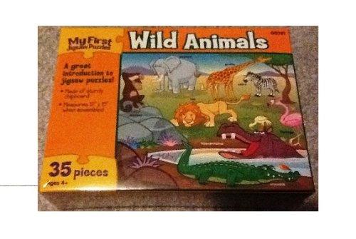 Wild Animals Jigsaw Puzzles-35 Pieces