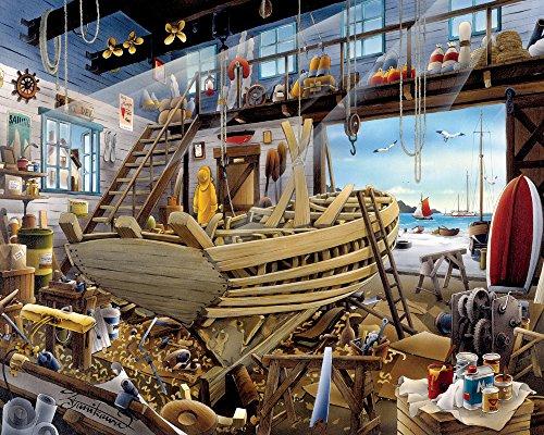 Boatyard Jigsaw Puzzle 1000 Piece