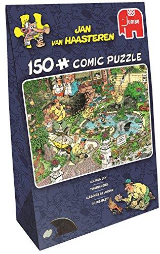 Jan van Haasteren - All Dug Up 150 Piece Jigsaw Puzzle