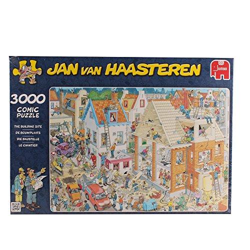 Jan van Haasteren Building Site Jigsaw Puzzle 3000 Pieces