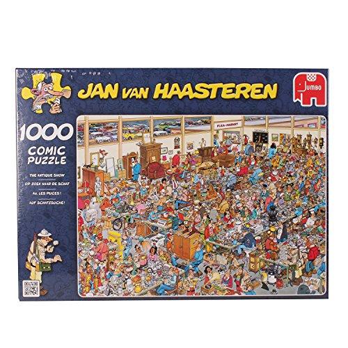 Jan van Haasteren Comic Puzzle - The Antique Show