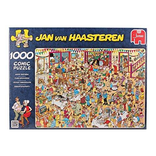 Jan van Haasteren - Happy Birthday 1000 Piece Jigsaw Puzzle by Jumbo Games