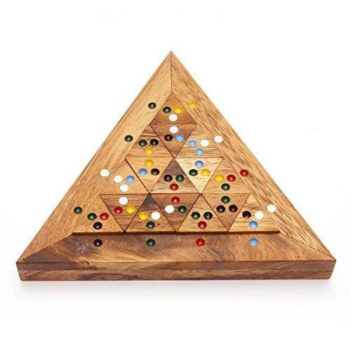 BRAIN GAMES Bermuda Triangle Wooden Puzzle