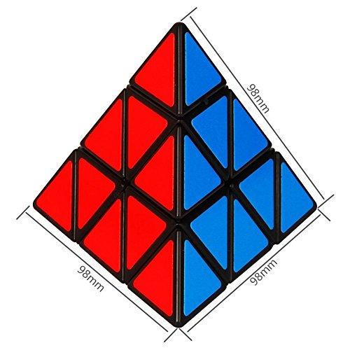 Pyraminx pyramid magic cube rubiks mefferts puzzle tripod triangular triangle puzzle