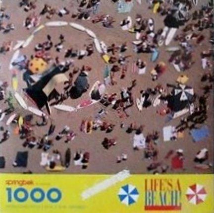 1000 Pcs Springbok Lifes a Beach Puzzle