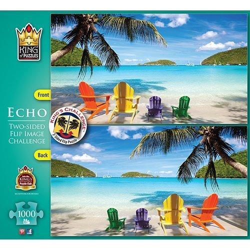 Echo Beach Scene 1000 Piece Puzzle