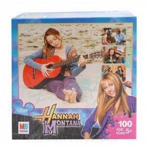 Hannah Montana 100-Piece Jigsaw Puzzle - Playing on the Beach