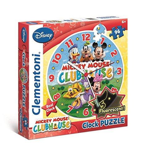 Clementoni Mickey Clock Puzzle 96 Piece