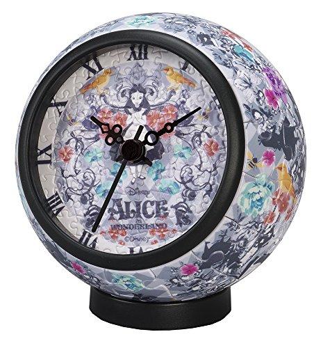 Yanoman 145-piece Jigsaw Puzzle Alice in Wonderland Clock of Wonderland Puzzle Clock Diameter 10x Height 10cm