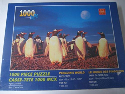 Penguins World 1000 Piece Puzzle
