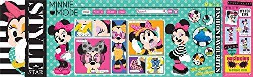 Disney Panorama Puzzle Minni Mouse a La Mode Style Star 750 Piece Disney Panoramas Puzzle