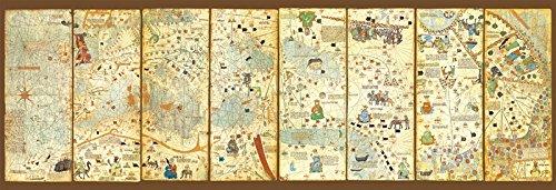 Educa Mappa Mundi Panorama Puzzle 3000 Piece One Color