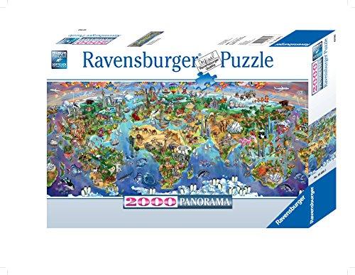 Ravensburger World Wonders Panorama Puzzle 2000 Piece