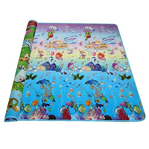 Arshiner Baby Kid Toddler Play Crawl Mat Carpet Playmat Foam Blanket Rug for InOut DoorsUS STOCK