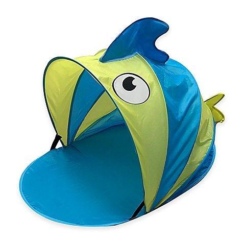 Aqua Leisure Fish Sunshade Baby Mat by Aqua Leisure