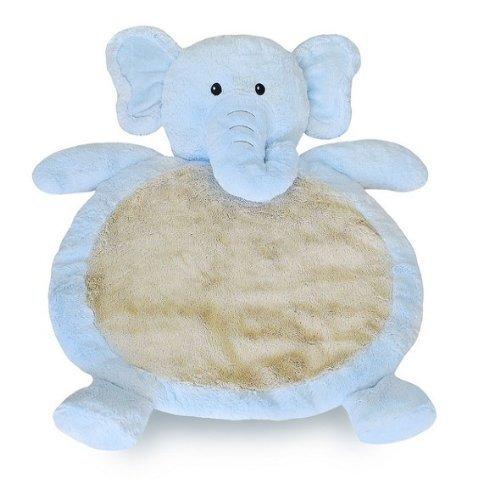 Bestever New Baby Mat Elephant Rug cuddly gift ~ blue