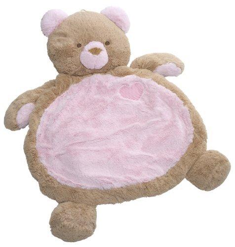 Mary Meyer Bestever Baby Mat Pink Bear by Bestever