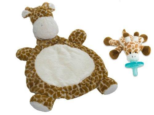 Mary Meyer Bestever Baby Mat with WubbaNub Infant Pacifier Giraffe by Mary Meyer