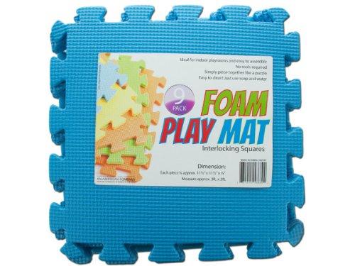 Bulk Buys Interlocking Foam Play Mat Set of 4