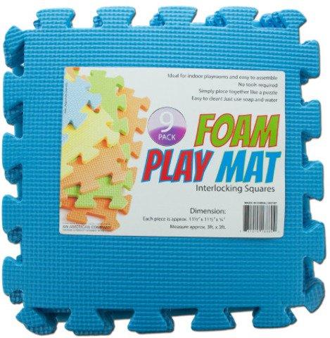 Interlocking Foam Play Mat Case Pack 4  Kid Toy  Hobbie  Nice Gift