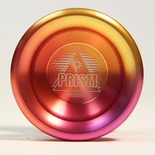 Zeekio Prism Aluminum ball bearing yo-yo with Anodized Finish