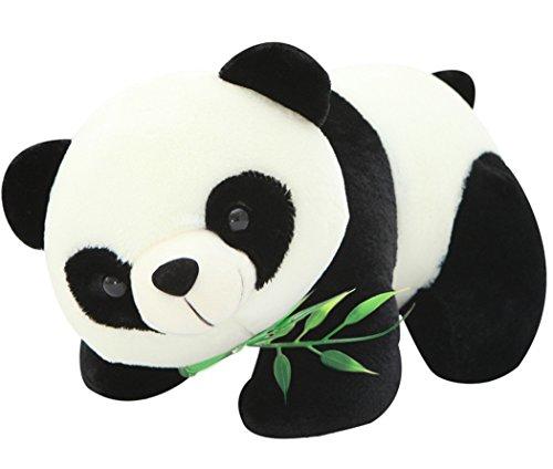 Coxeer Giant Stuffed Animals Plush Panda Toy For Baby Kids Black White 275in
