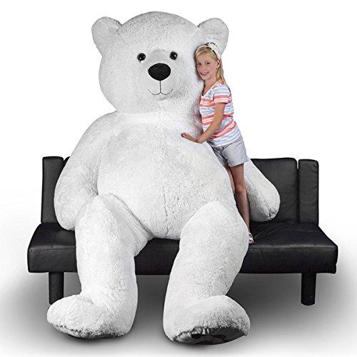World Tech Toys Polar Bear 94-inch Giant Stuffed Animal