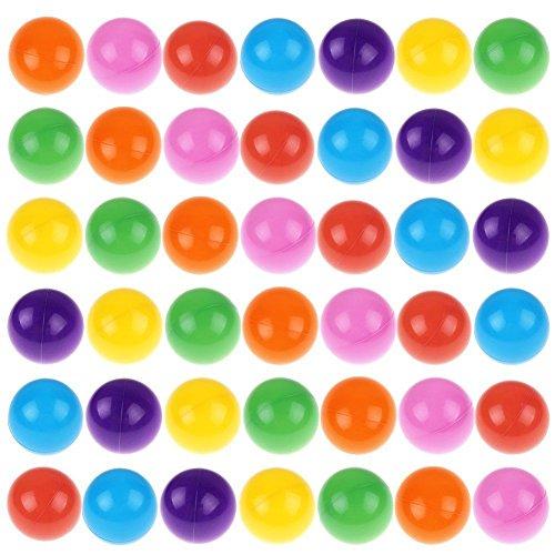 Sangdo 100x Multi-Color Cute Kids Soft Play Balls Toy for Ball Pit Swim Pit Pool ymq