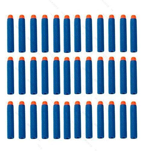 400pcs Kids Toy Gun Bullet Darts Round Head Blasters S For NERF N-Strike Blue