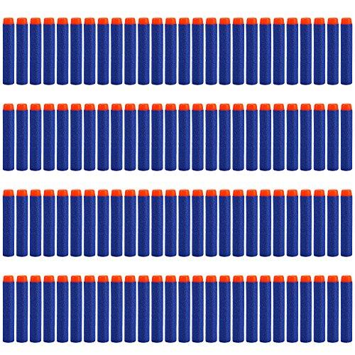 Yosoo 200pcs 72cm Refill Bullet Darts for Nerf N-strike Elite Series Blasters Kid Toy Gun