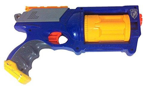 Nerf N-strike Maverick Rev-6 Dart Gun Blaster Blue